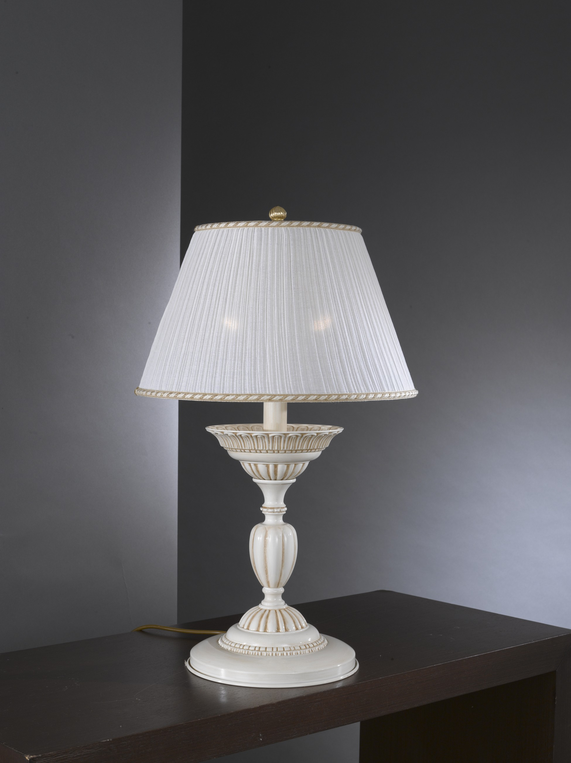 Brass Table Lamp With Lamp Shade Reccagni Store