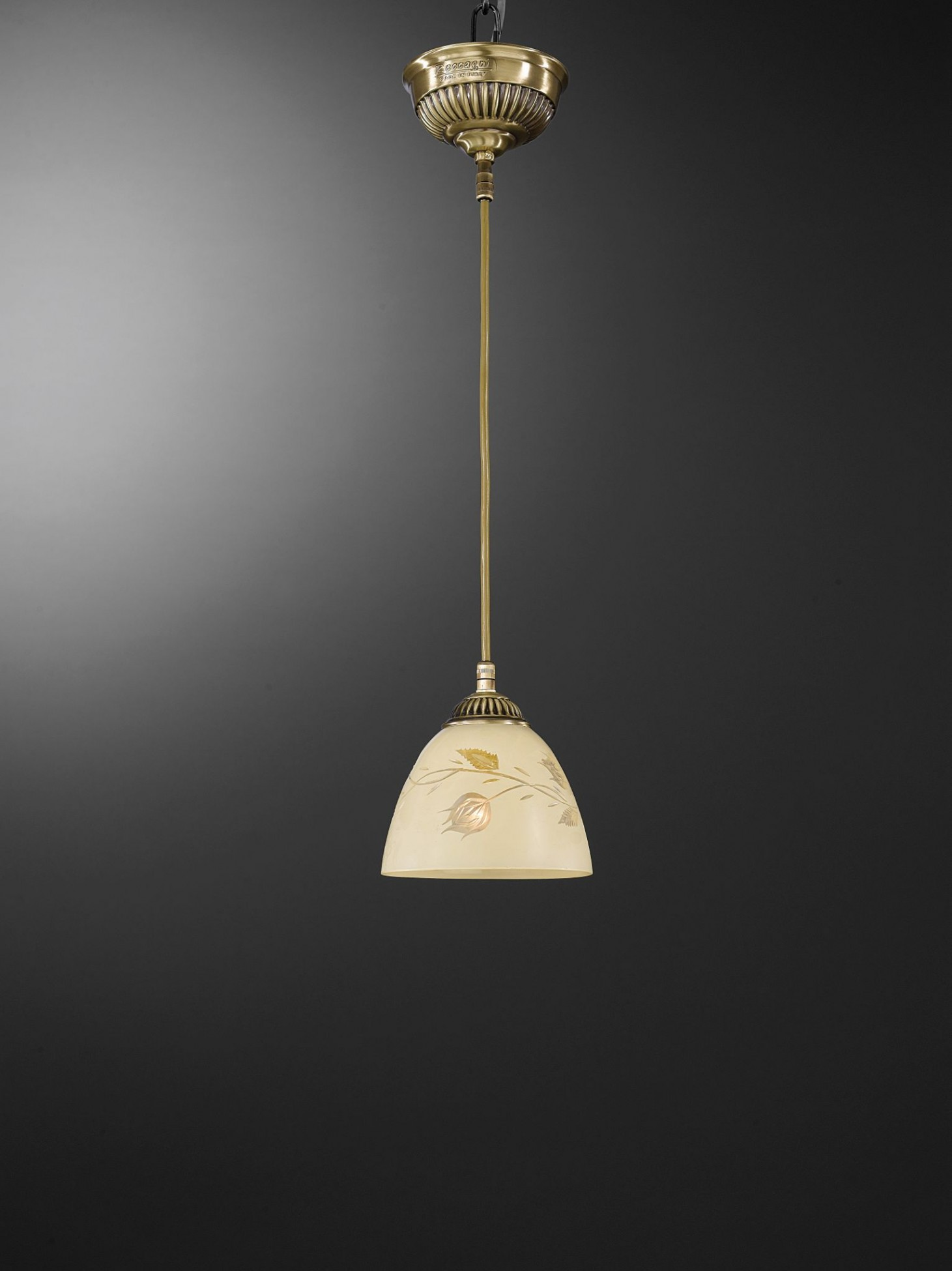 with pendant glass small light storm shade brass