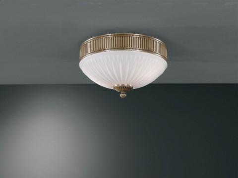 Plafoniere Ottone : Illuminazione per interni plafoniere classiche bronzo arte