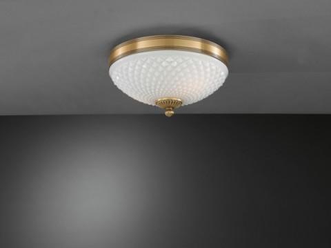 Plafoniere Vetro Soffiato : Illuminazione per interni plafoniere classiche bronzo arte