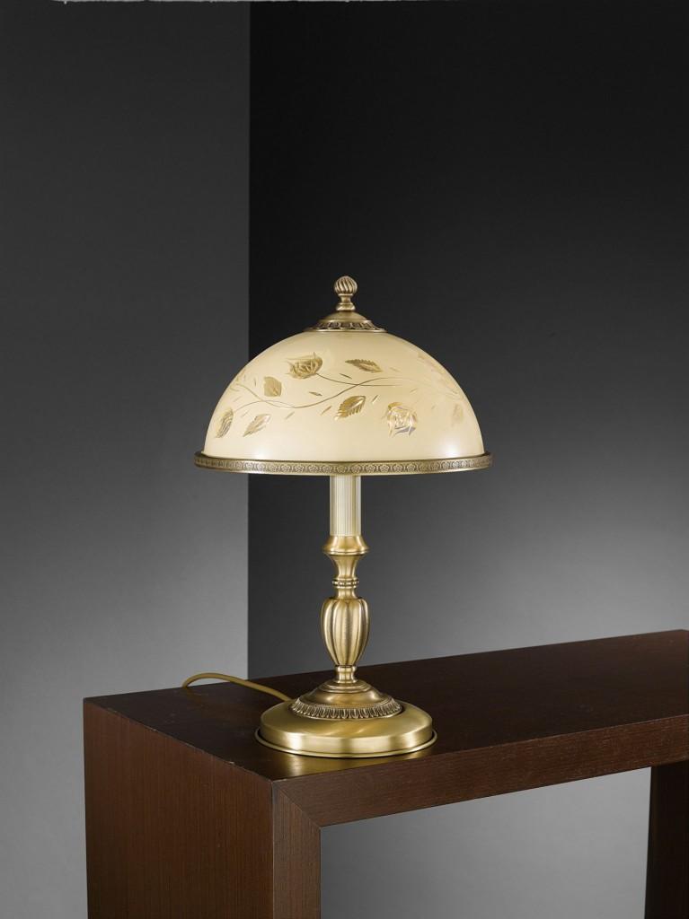 Lampade da tavolo classiche in ottone | Reccagni Store