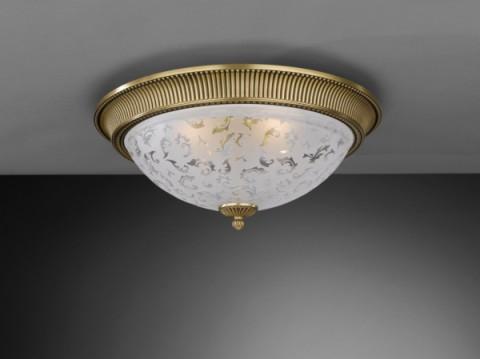 Plafoniere Ottone Design : Illuminazione per interni plafoniere classiche bronzo arte