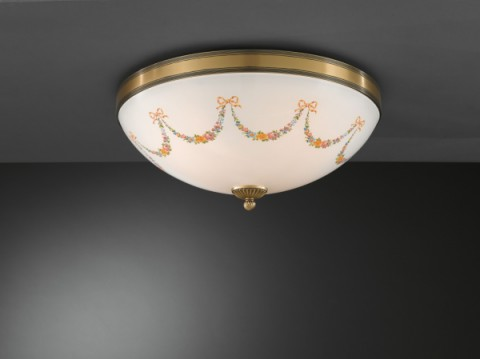 Ceiling lamp Bronze Art PL.8000/4